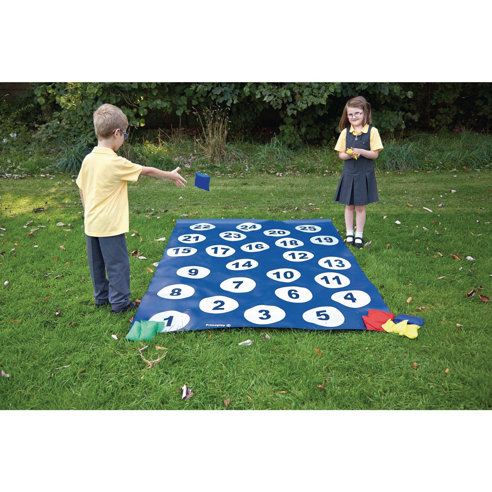Number Toss Floor Game