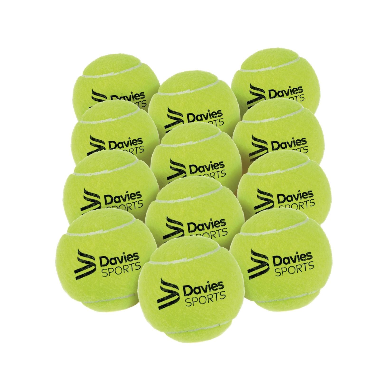 Davies Sports Practice Tennis Balls - Pack of 12