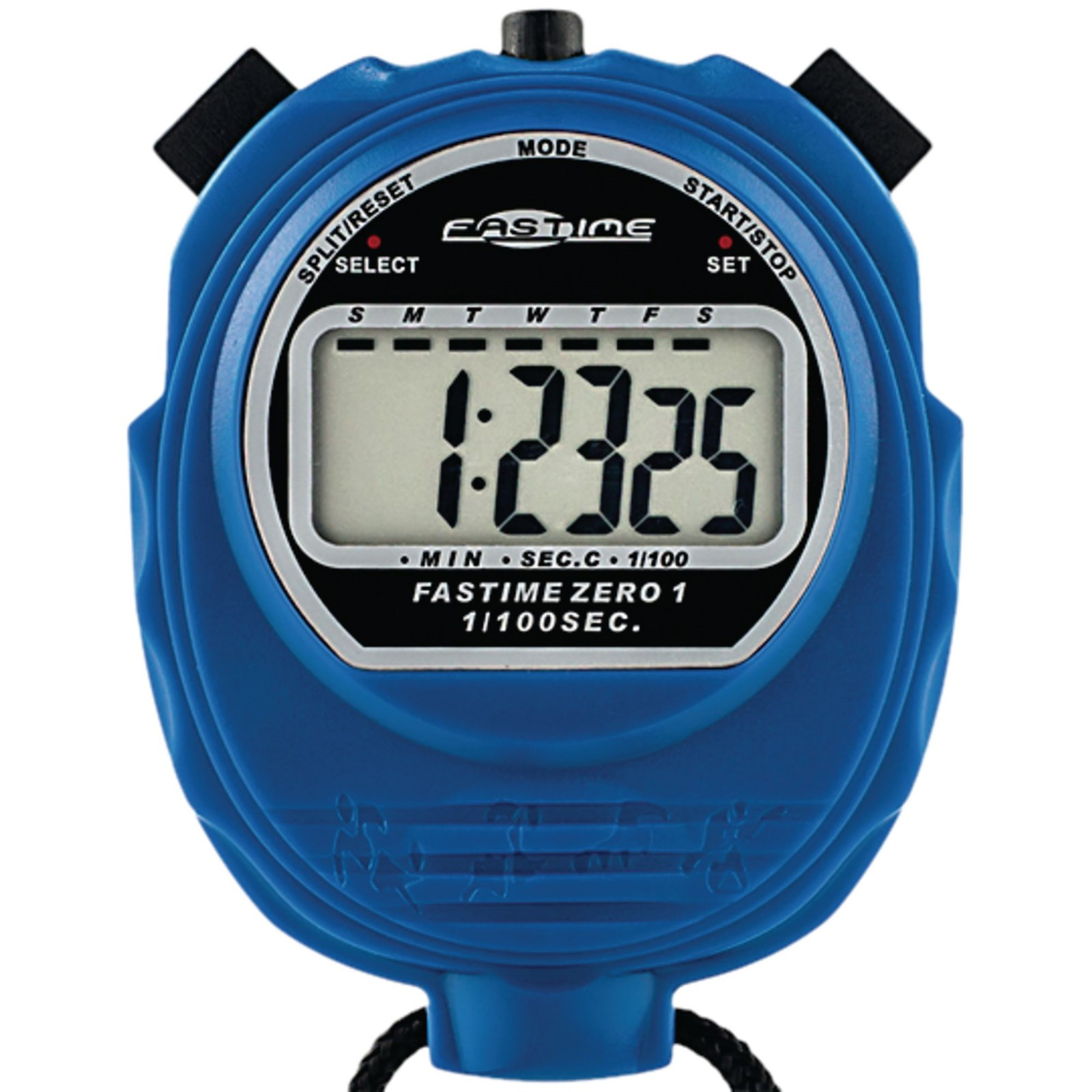 Fastime 1 Stopwatch - Assorted - Pack of 6