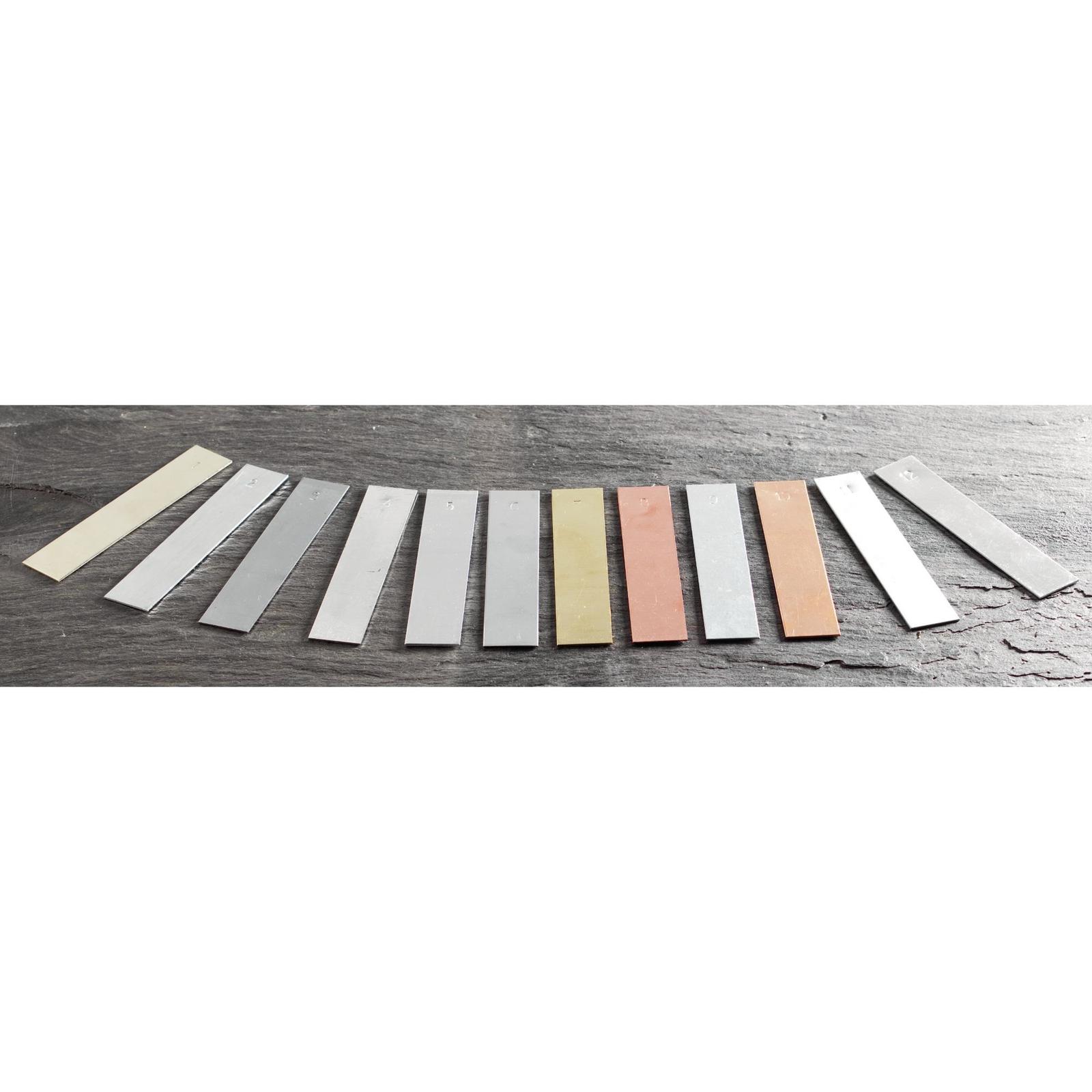 Set of Metal Strips