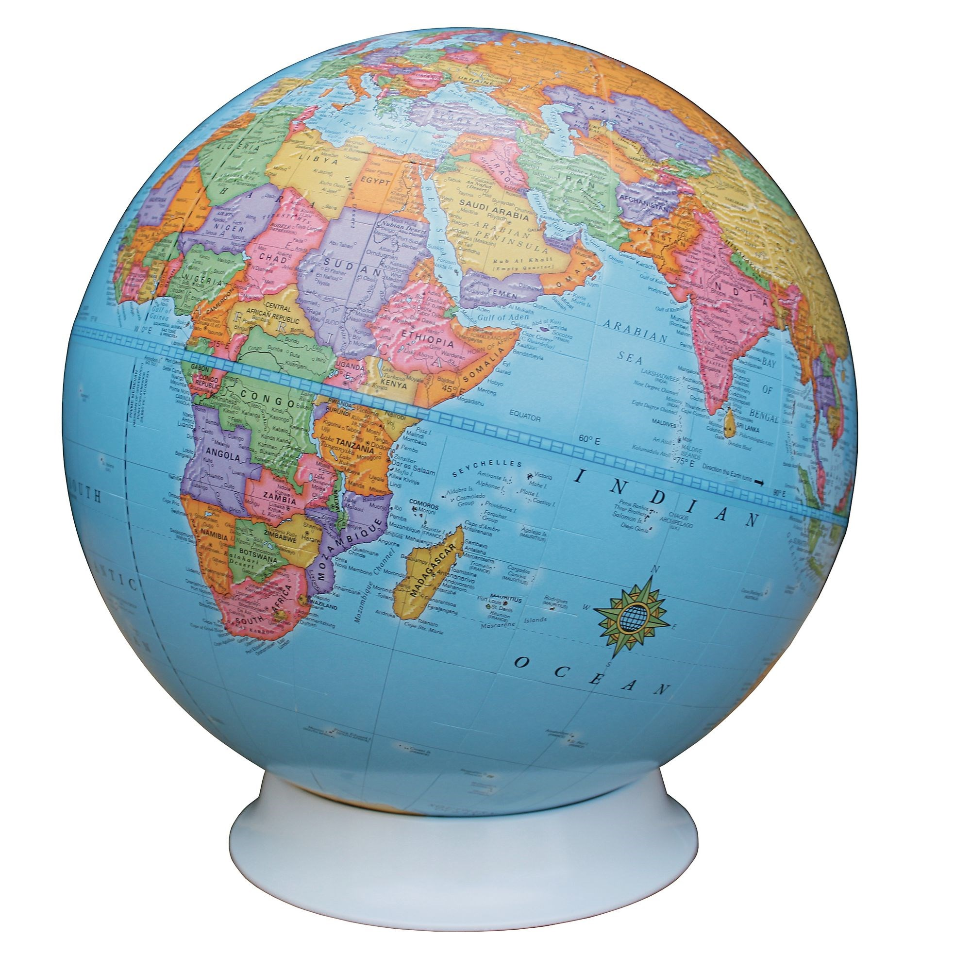 Political Globe 23cm