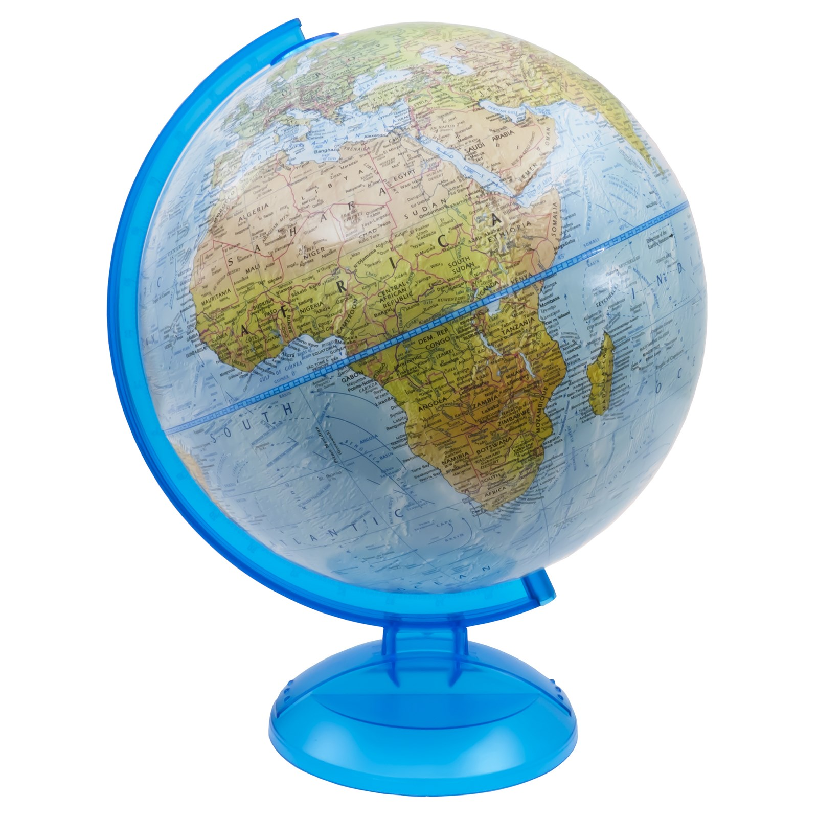 Physical Relief Globe