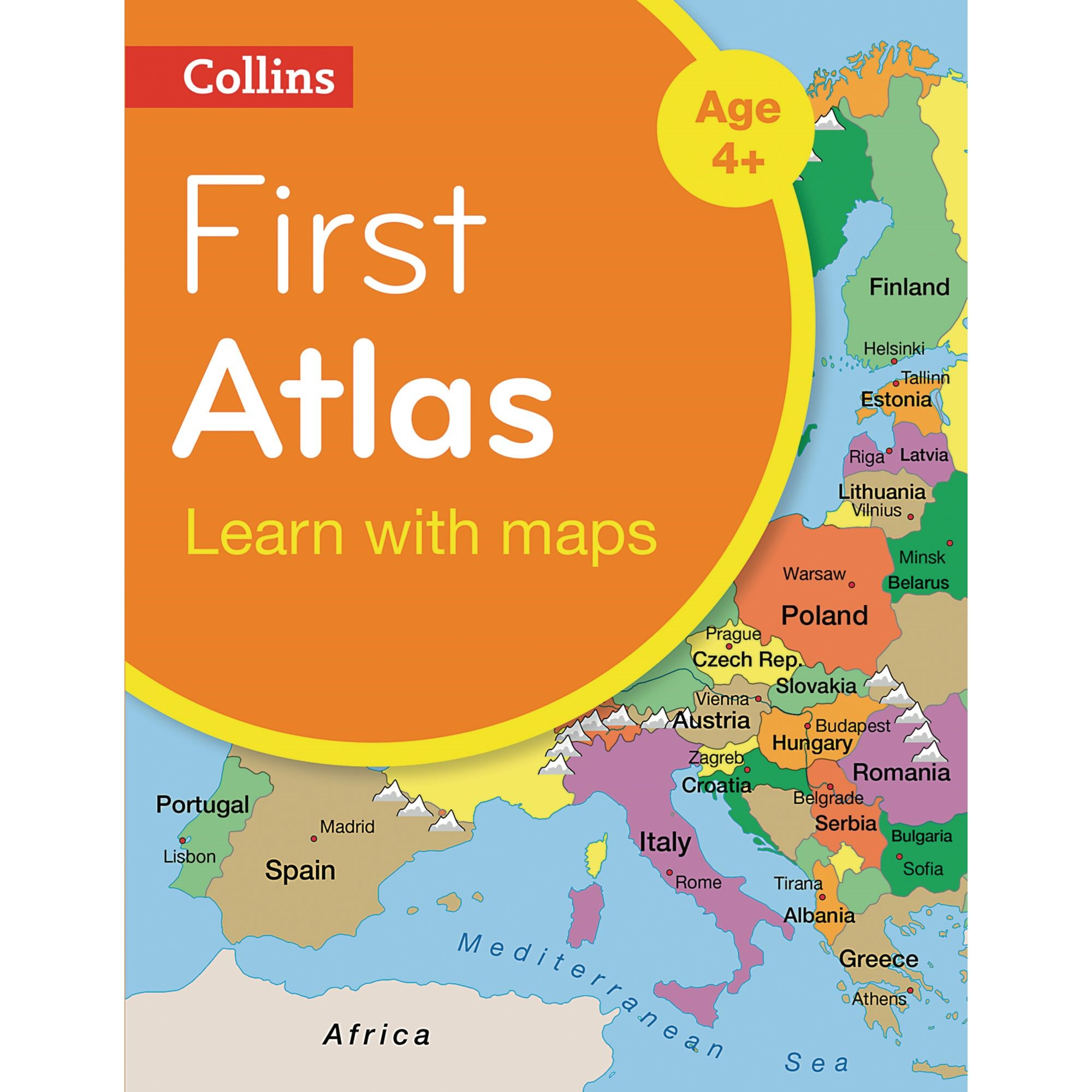 Collins First Atlas Pack Of 5