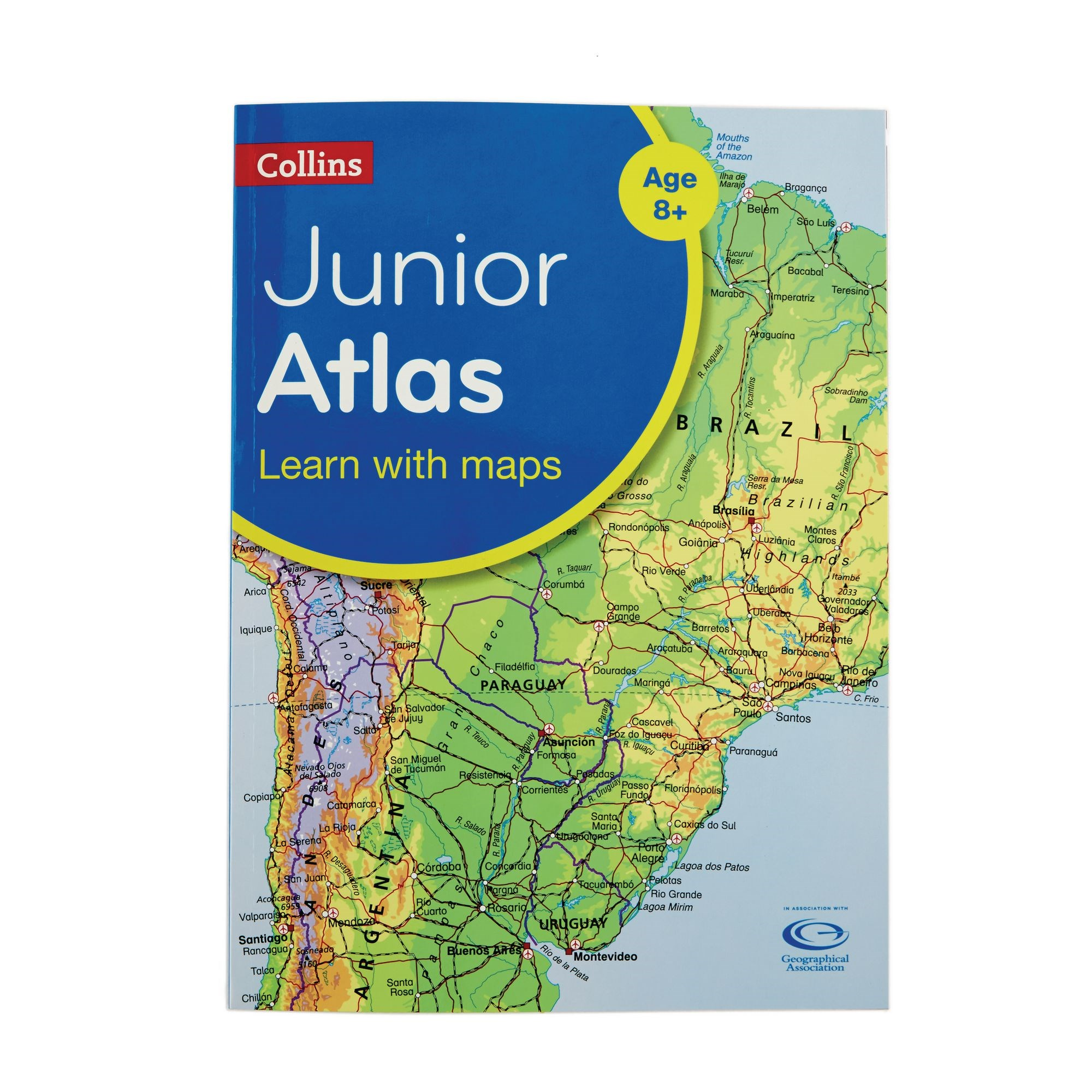 Collins Junior World Atlas Pack Of 5