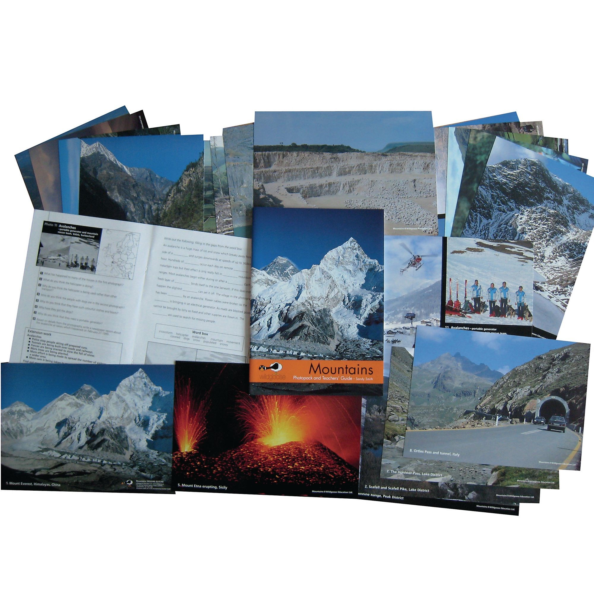 Mountains Photopack And Book