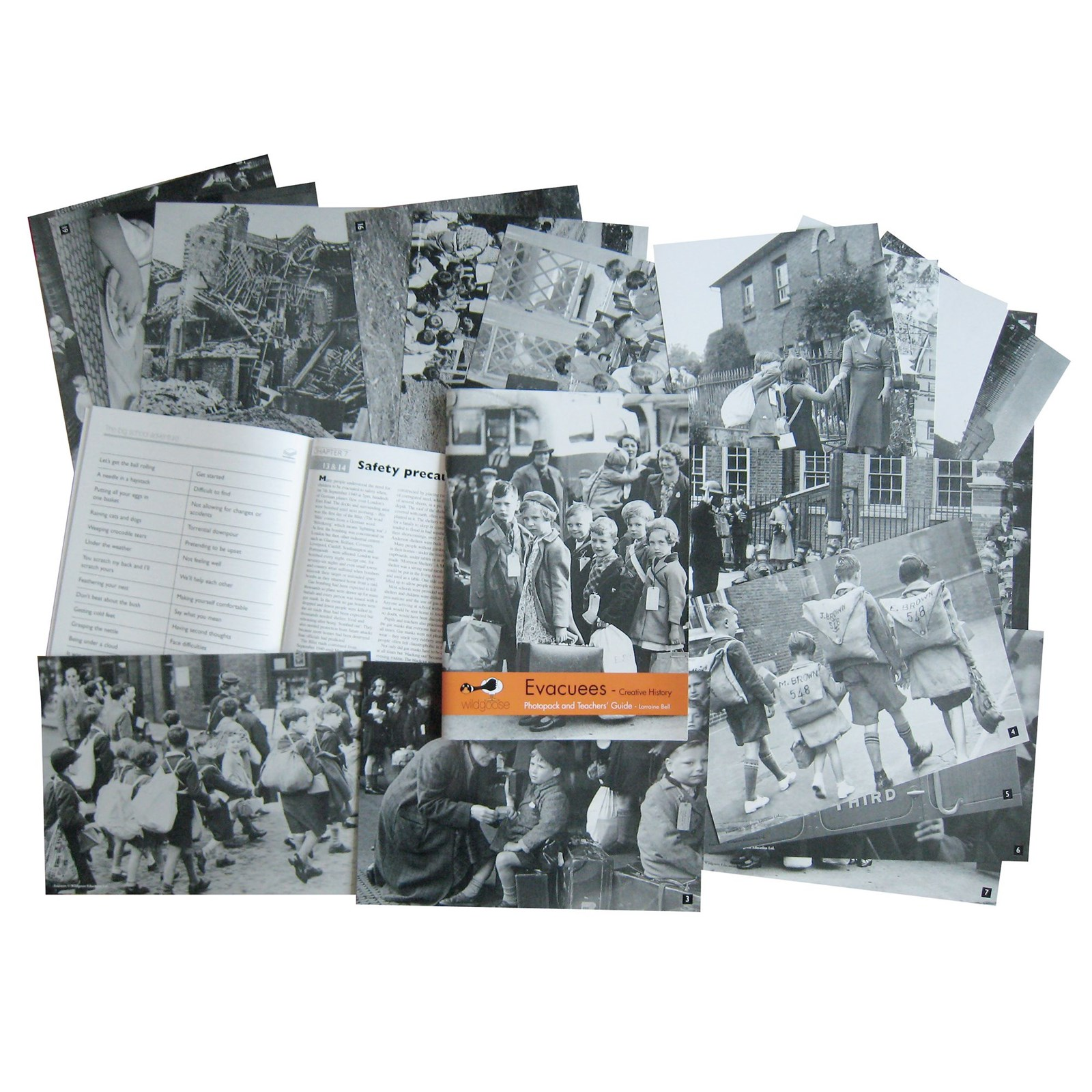 Evacuees Photopack and Book
