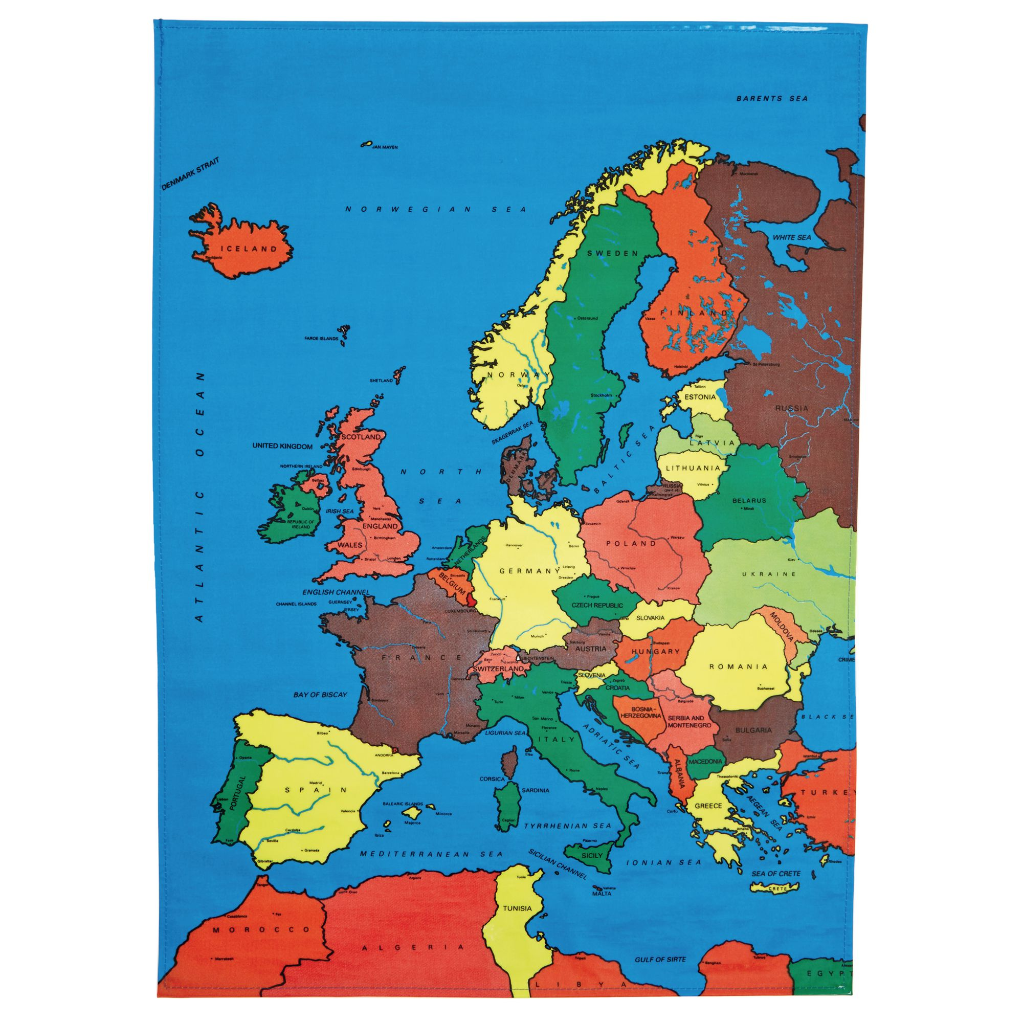 Picture of: Europe Map Mat Hc1003455 Findel International