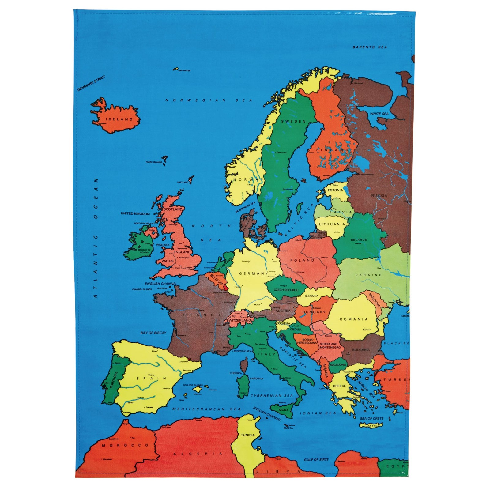 Europe Map Mat Gls Educational Supplies