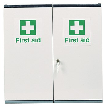 Double First Aid Cabinet