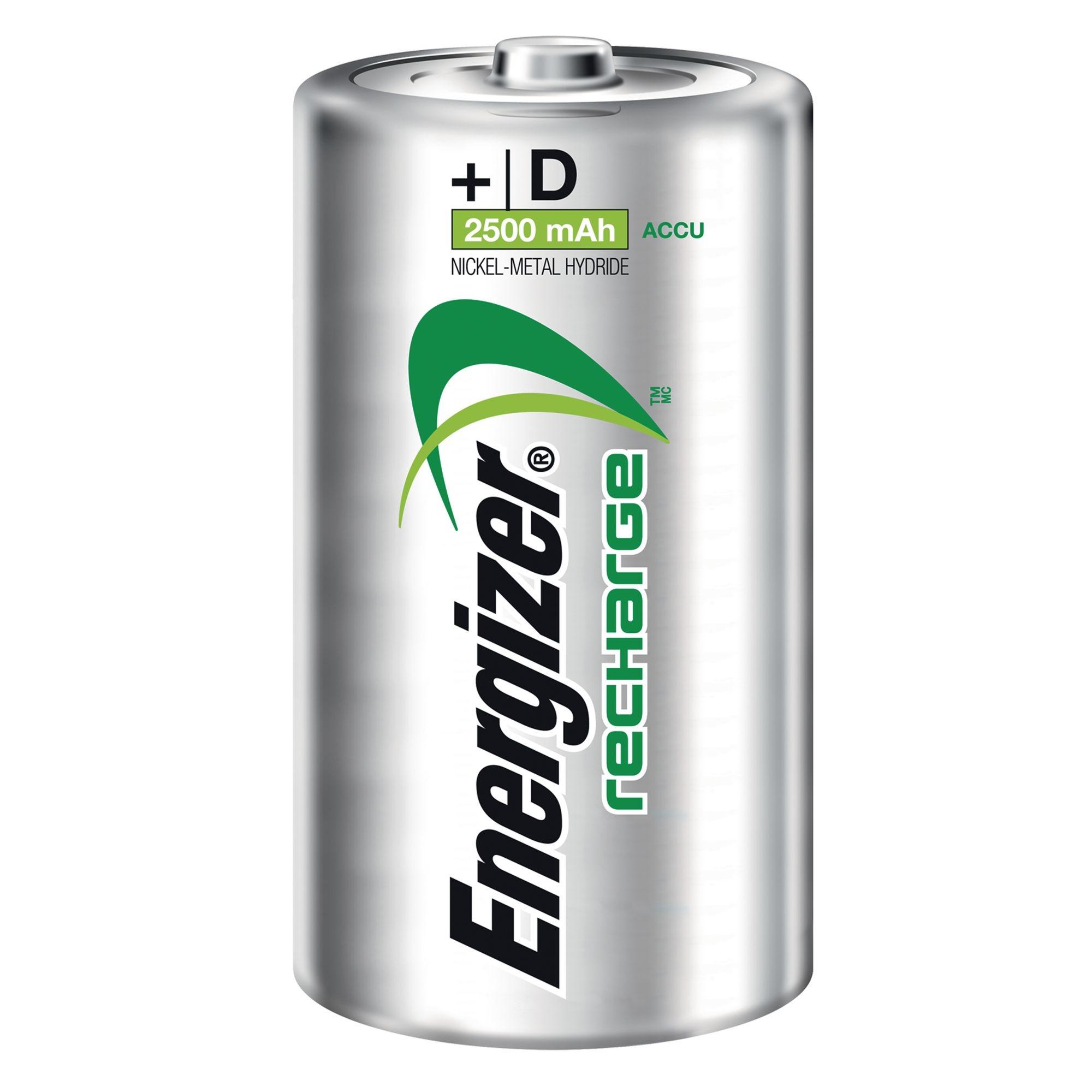 Rechargeable Battery D HR20 Pk2