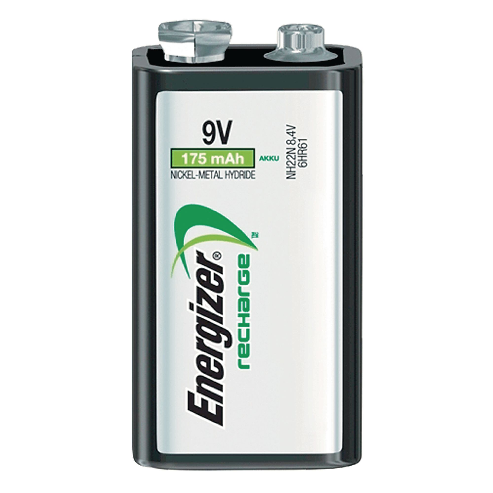 Rechargeable Nickel Metal Hydride Battery 9v Hr22