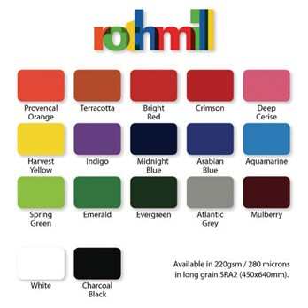 Rothmill Sra2 Brilliant Colour Card