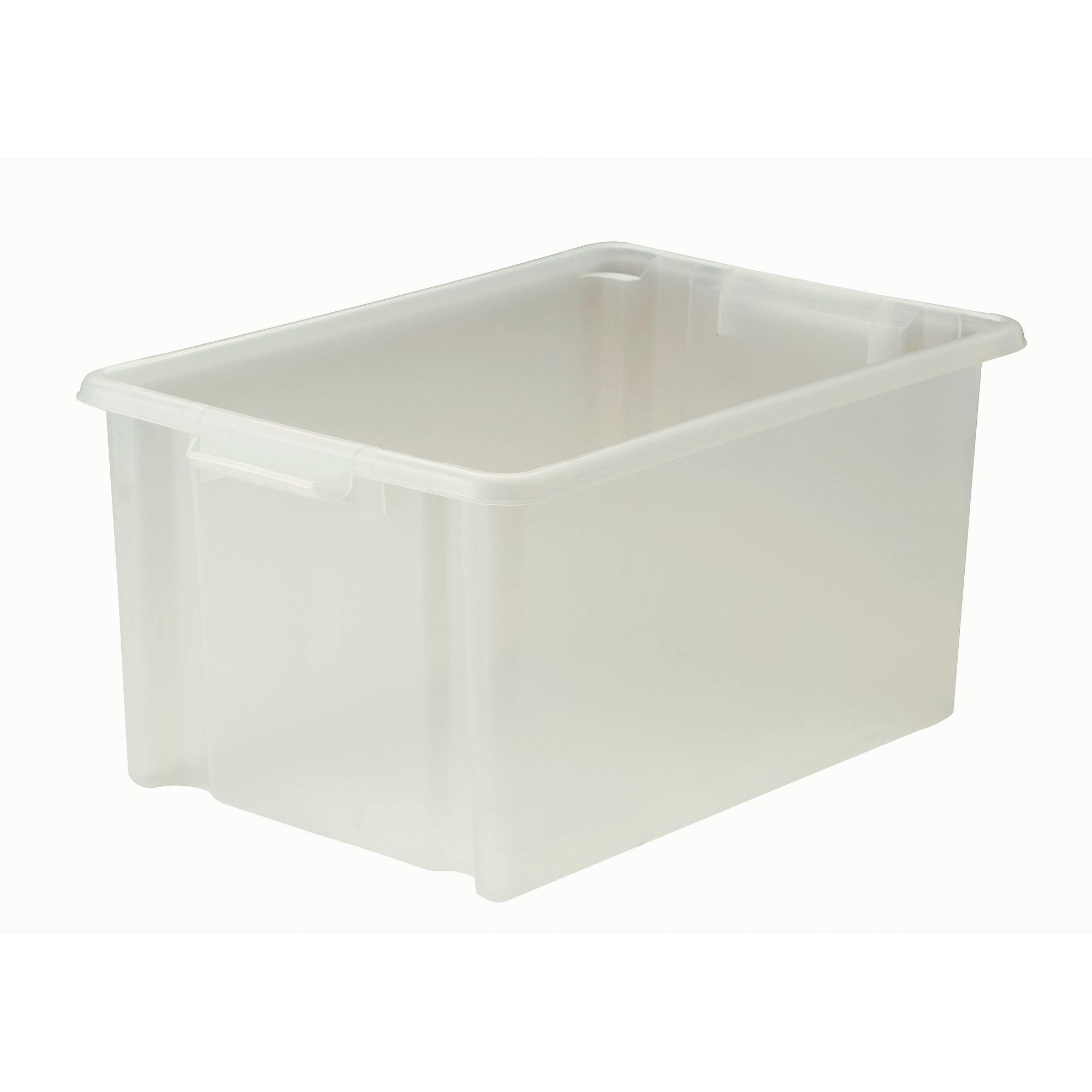 Easy Access Jumbo Tray Clear Pk6