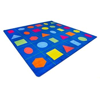 Geometric Shapes Placement Mat - HE88201062 | Hope Education