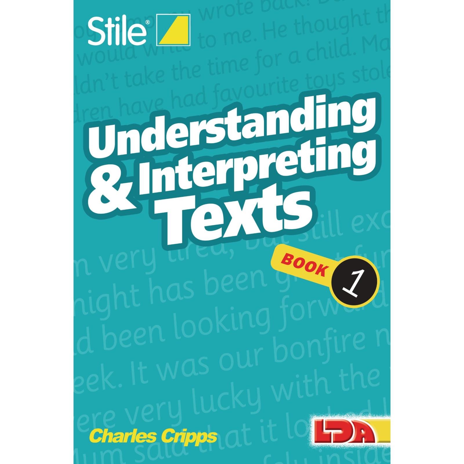Stile Understanding & Interpreting Texts - Books 1-12