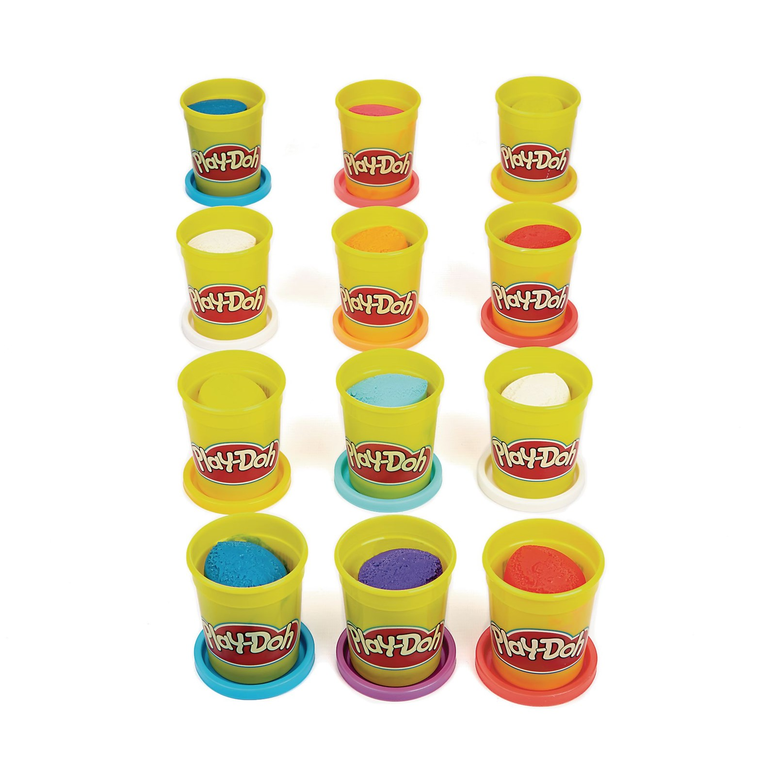 Play Doh Pack Of  Pack Of Twelve