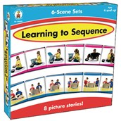 Learning To Sequence 6 Scene Sets - Pack of 48