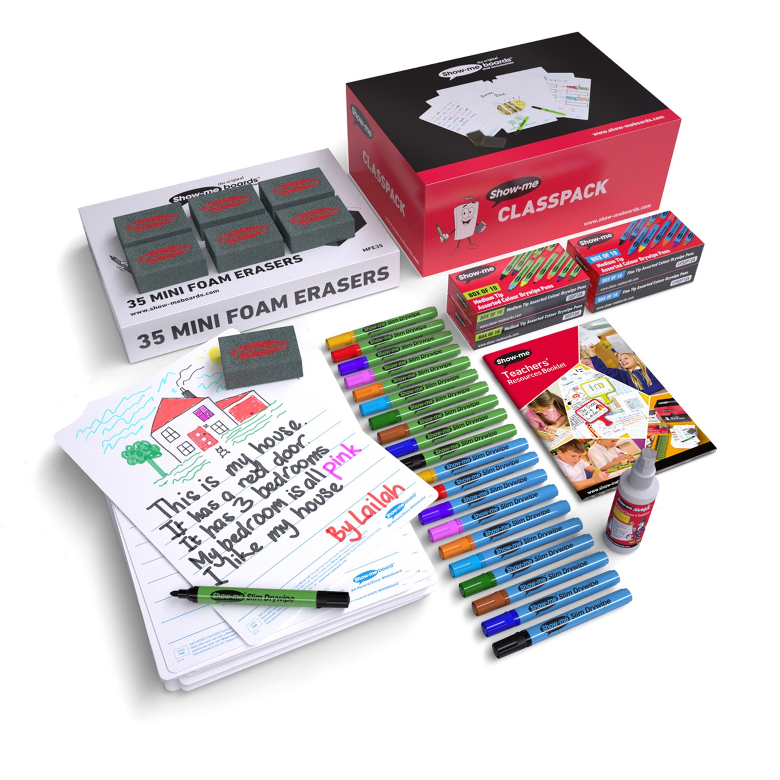 Show Me Picture and Story Boards Class Pack
